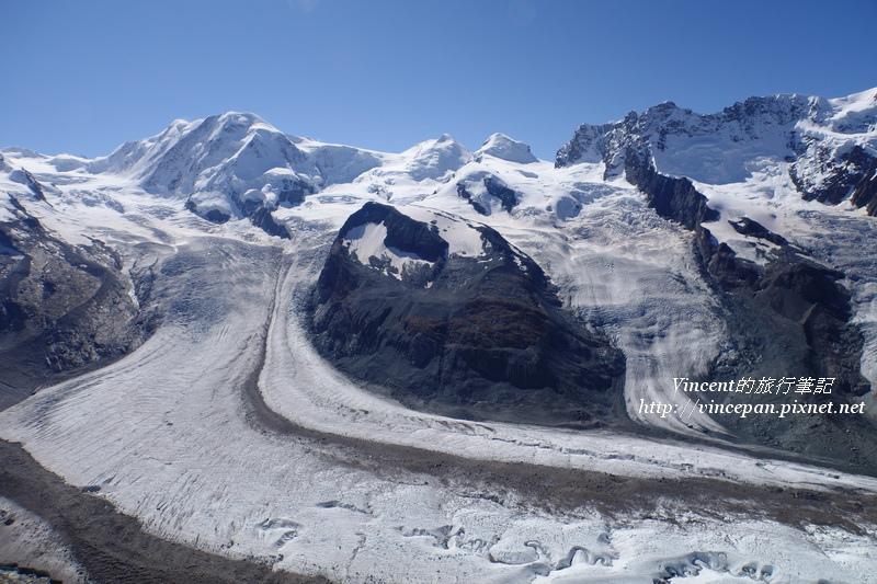 利斯卡姆峰 雙子峰 冰河2