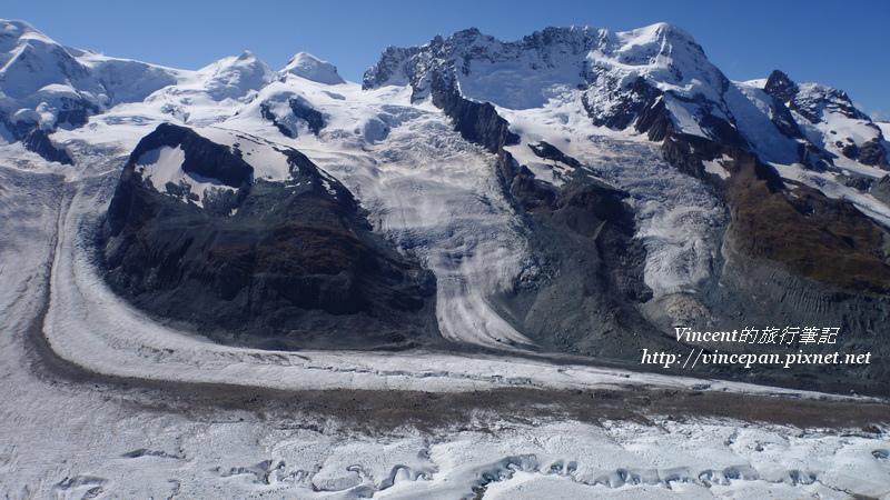 雙子峰  冰河