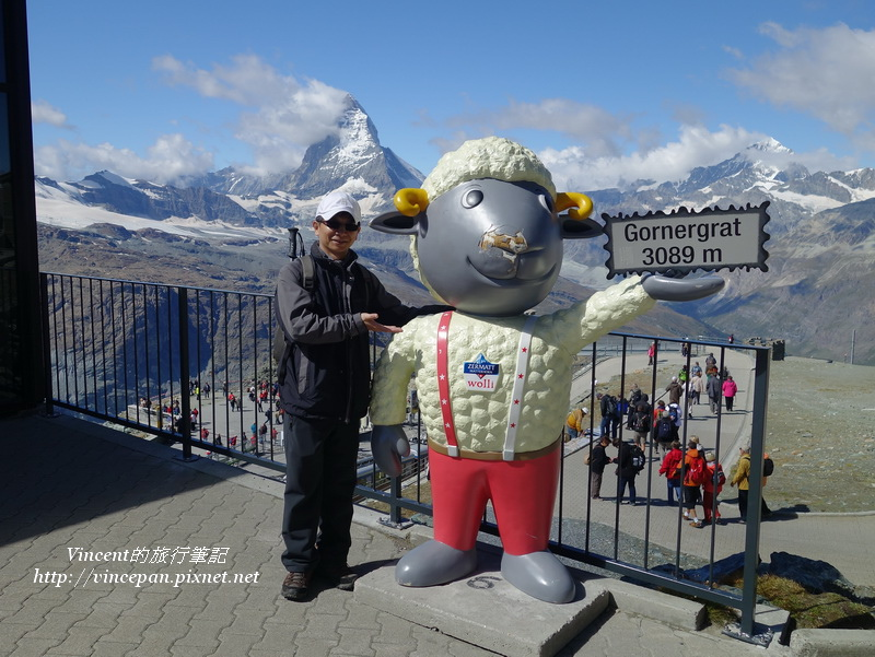 馬特洪峰與黑面羊