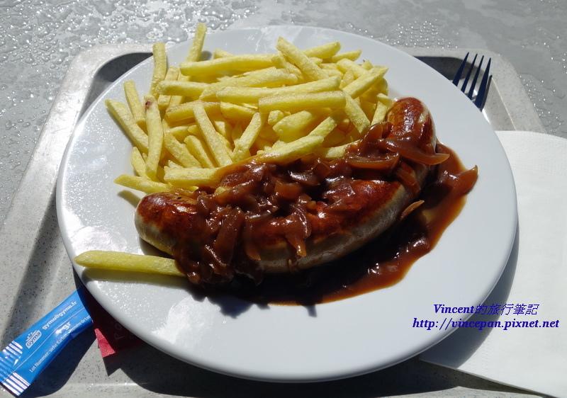 德國香腸 薯條