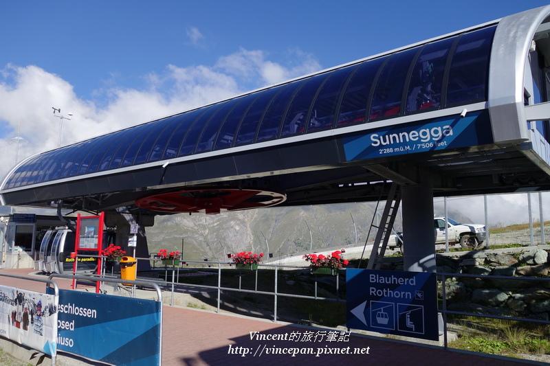 Sunnegga纜車站