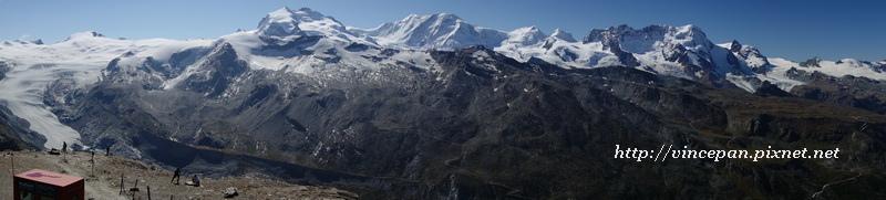 高山與冰河 全景