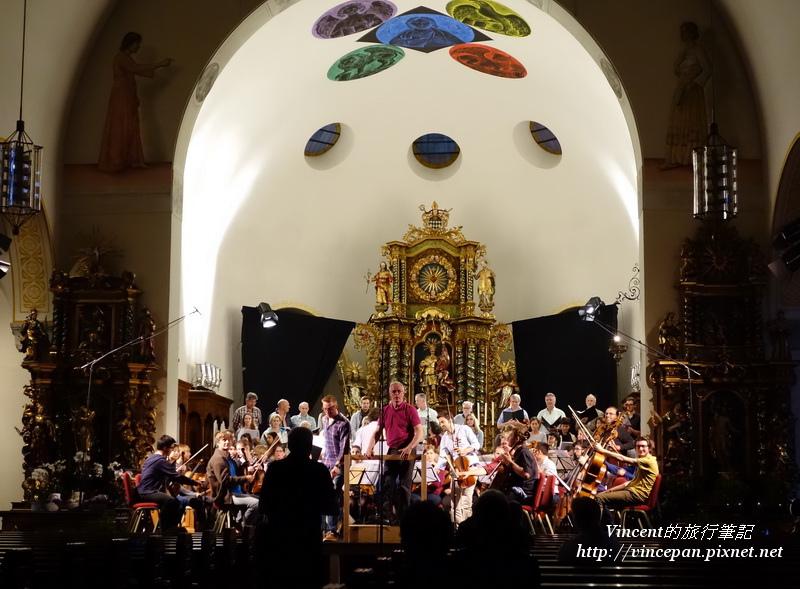 交響樂團的預演