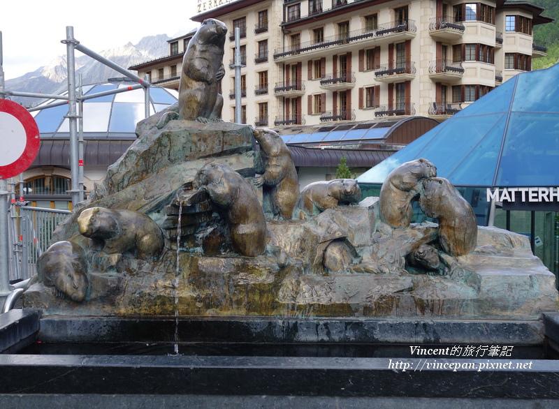 土撥鼠噴泉
