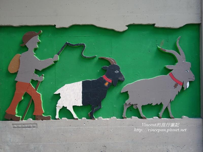 牧童趕著黑面羊