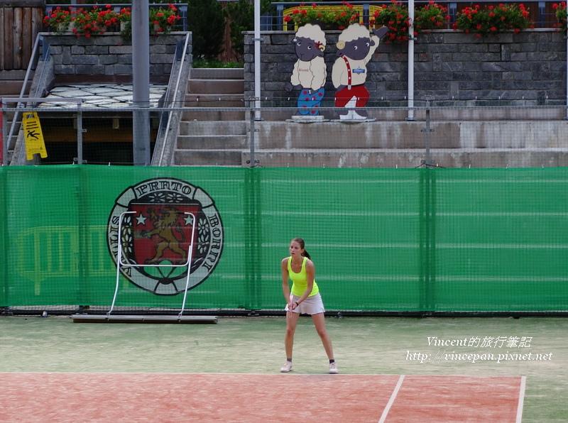 網球女選手