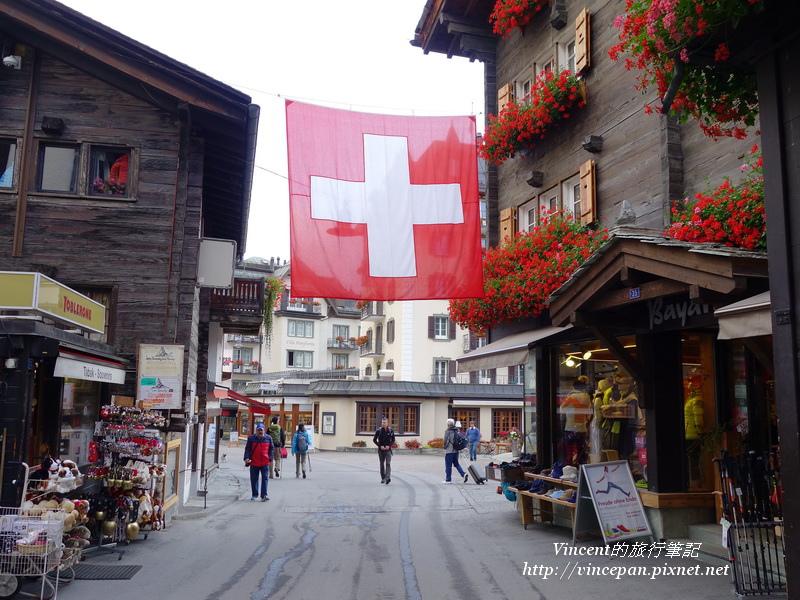 Zermatt街道