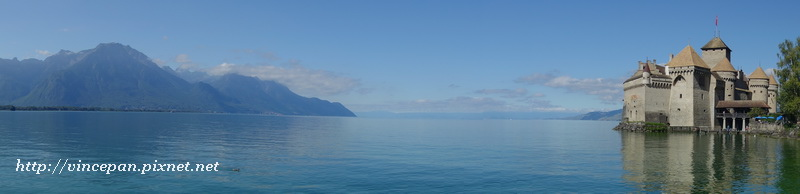 西庸古堡 蕾夢湖 全景