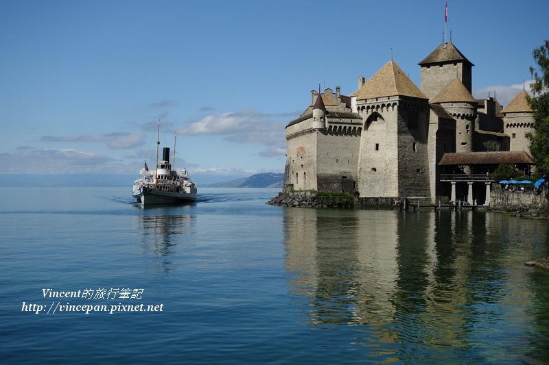 西庸古堡  遊艇1