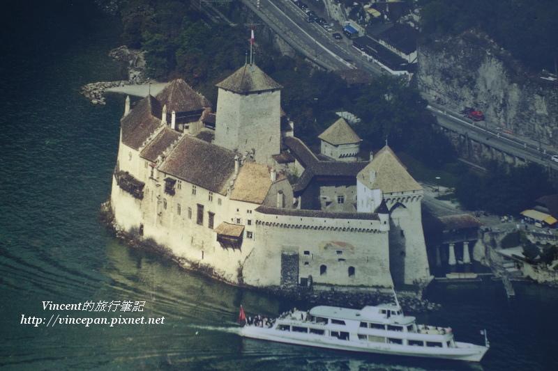 西庸古堡 遊艇 空拍