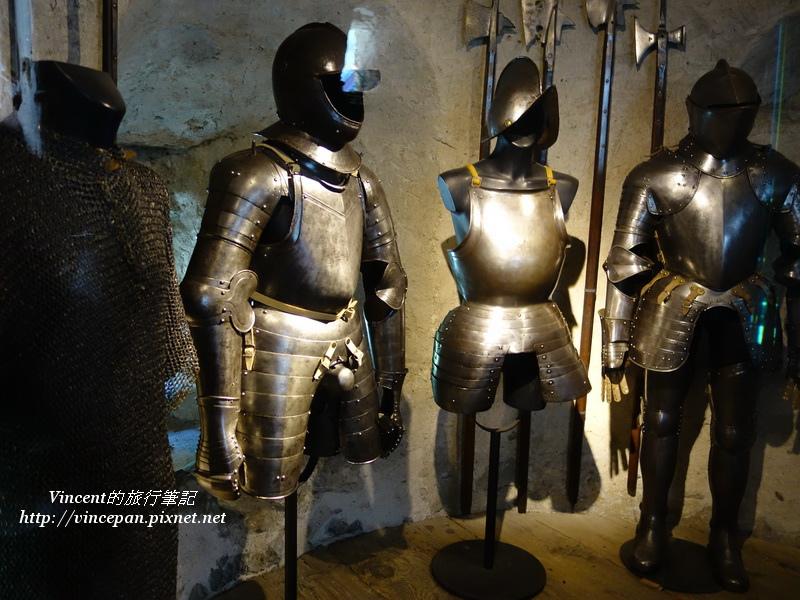 武士的盔甲
