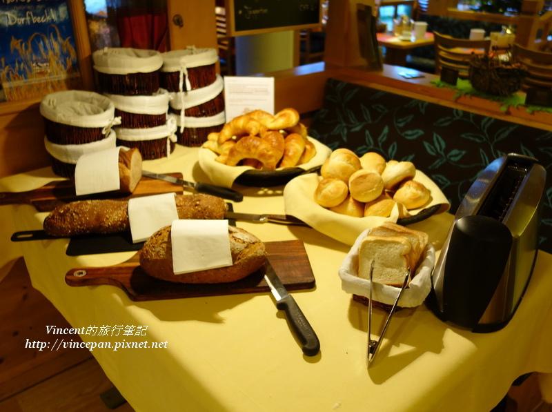 Hotel Hirschen 麵包