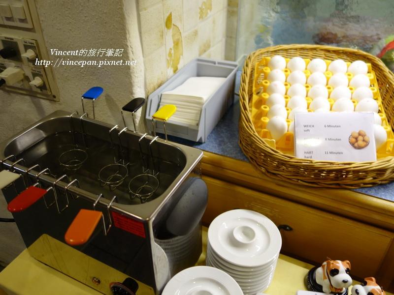Hotel Hirschen 煮蛋