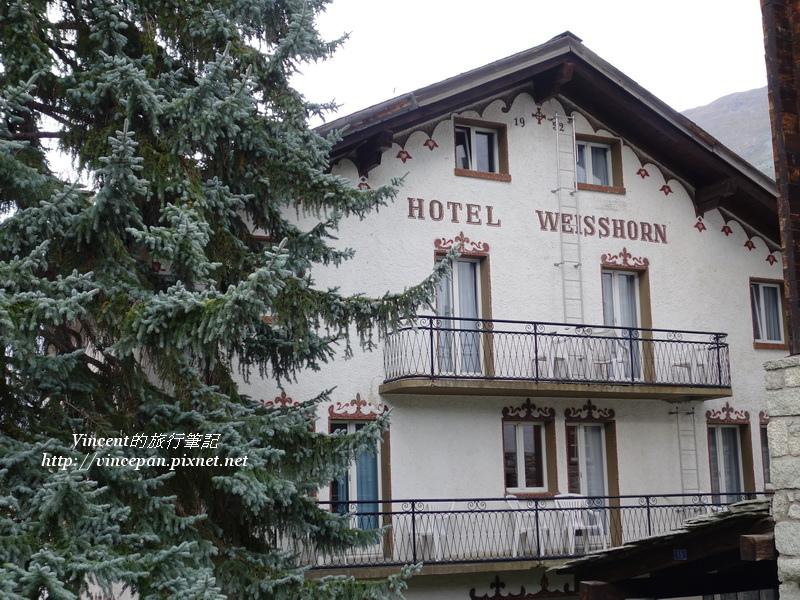 Hotel Weisshorn 松樹