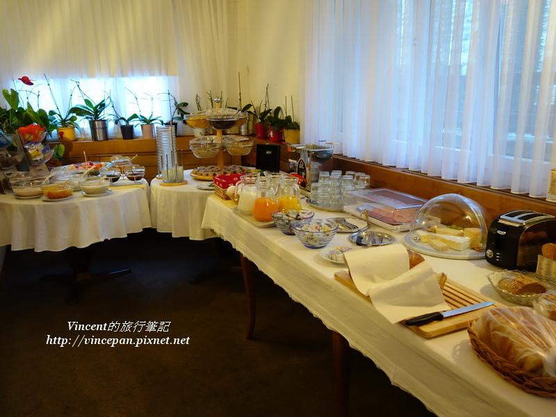 Hotel Weisshorn早餐