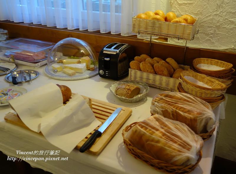 Hotel Weisshorn麵包