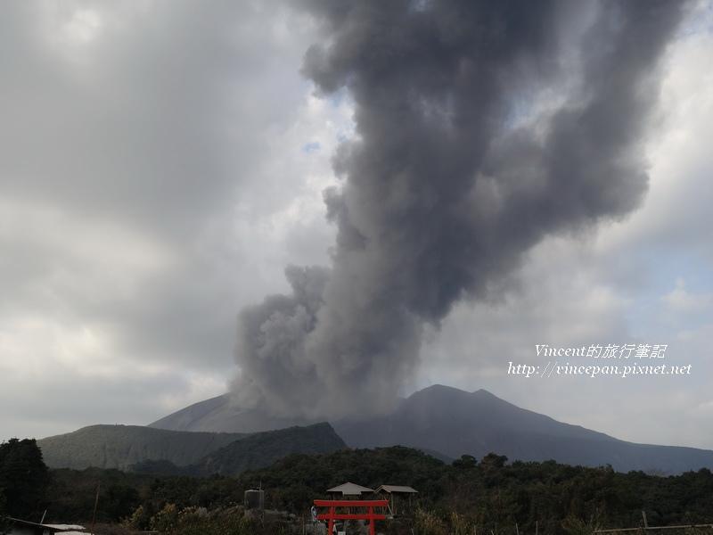 櫻島火山噴發1