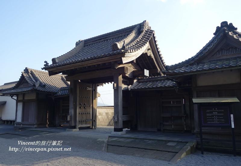 仙巖園的正門