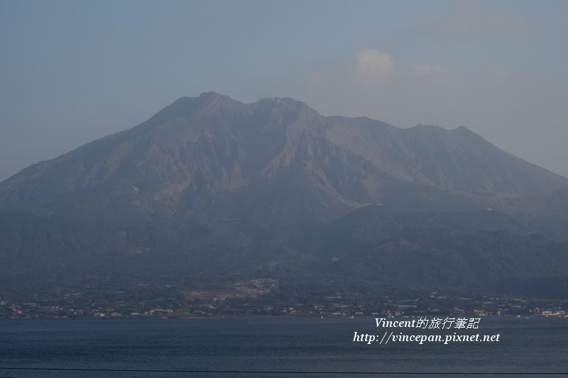 櫻島火山 近拍