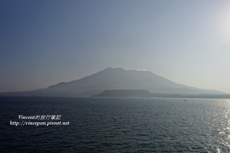 櫻島 正面
