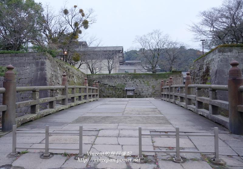 鶴丸城 石橋