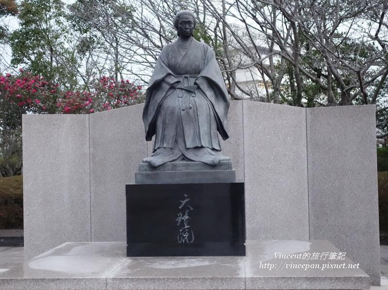 篤姬-天璋院的雕像
