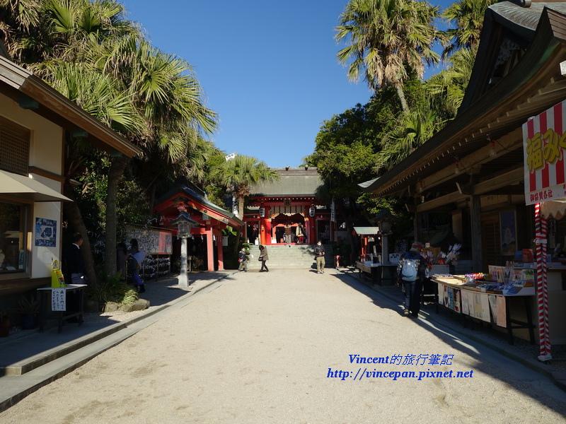 青島神社參道