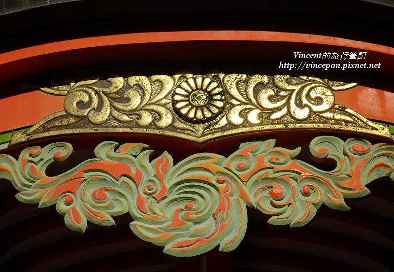 青島神社 雕刻
