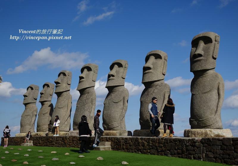 摩艾石像 側面2