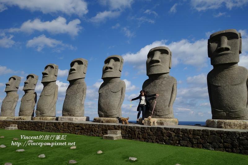 摩艾石像 側面3