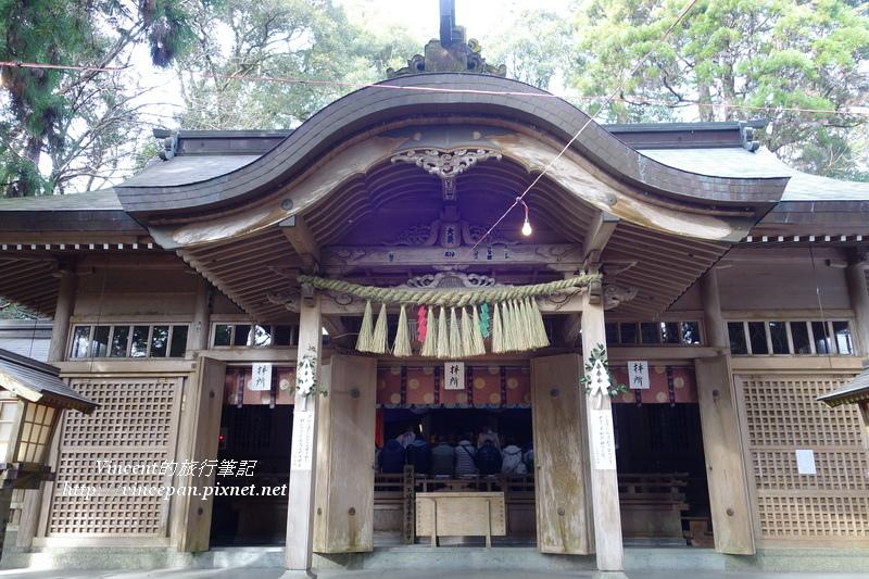 高千穗神社 本殿