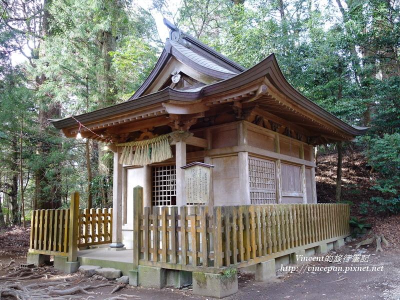 荒立神社與四皇子社