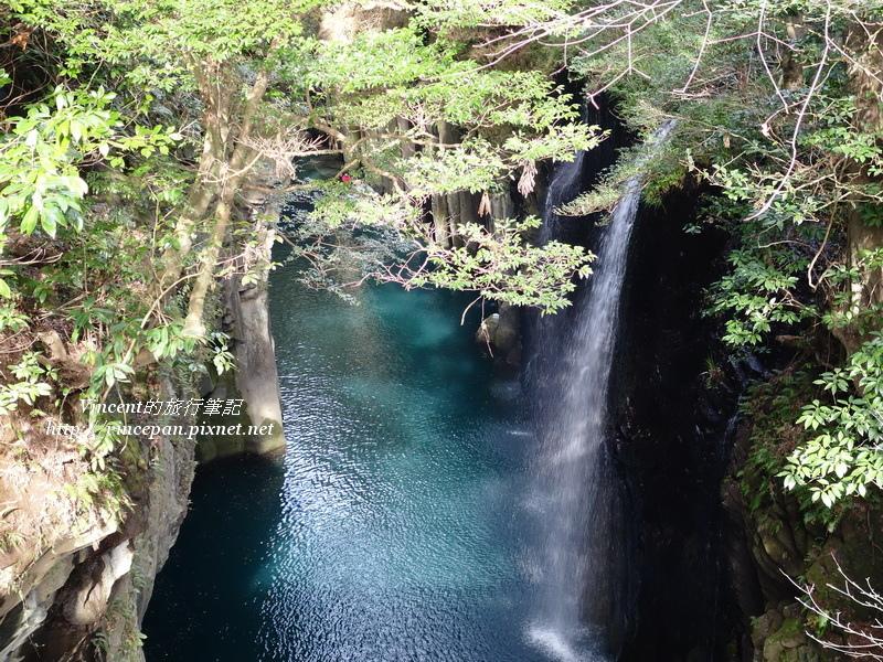御橋下方的真名井瀑布2