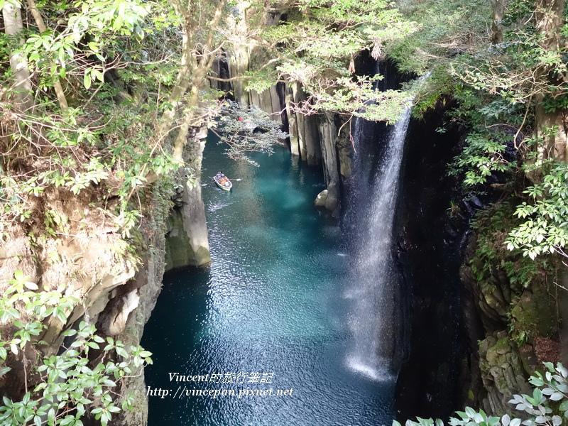 御橋下方的真名井瀑布3