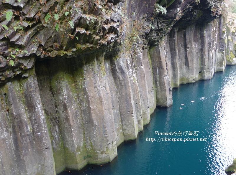 安山岩絕壁