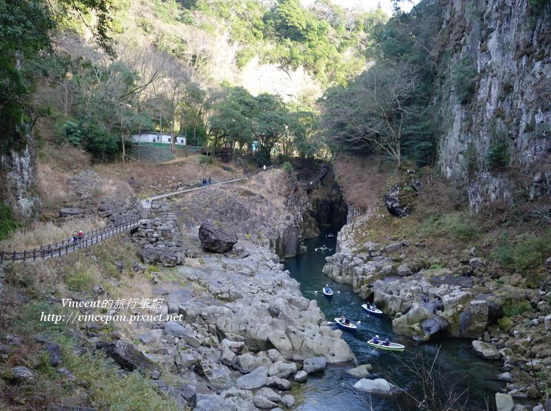 峽谷沿途步道