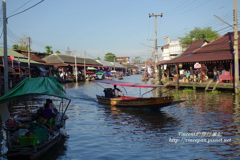 安帕瓦水上市場 河道2