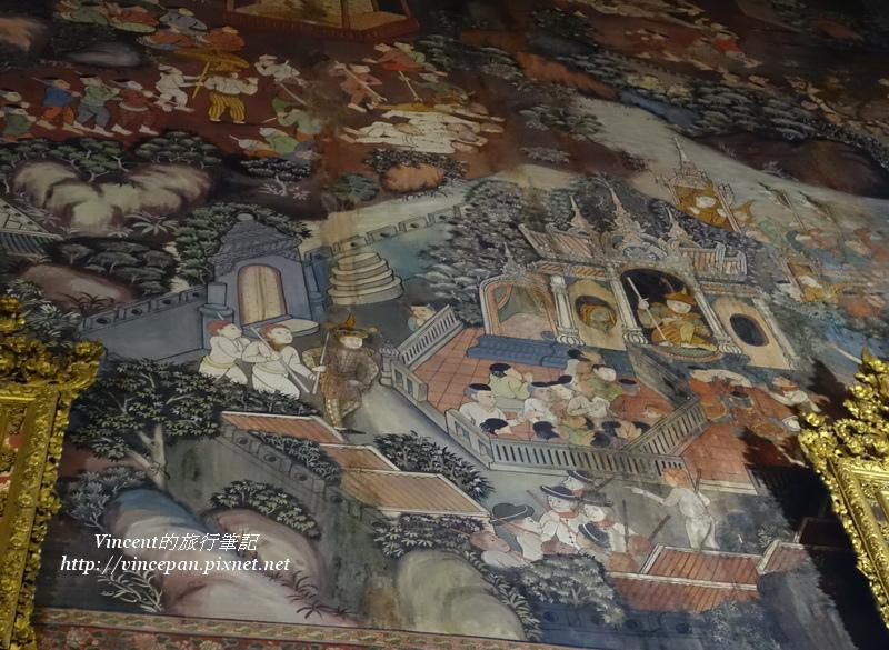 臥佛殿壁畫1