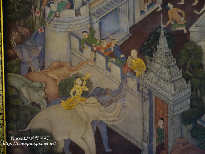 臥佛殿壁畫2