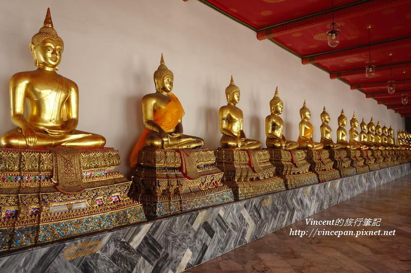 迴廊上佛像2