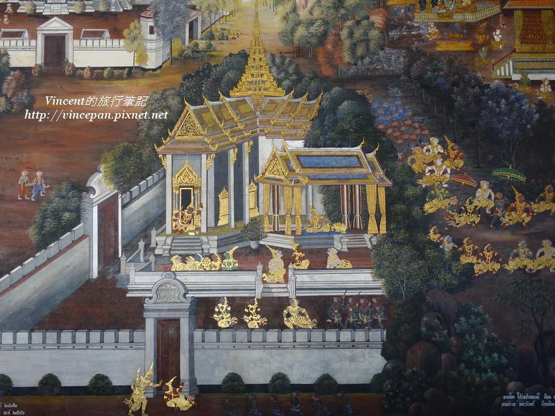 拉瑪堅神話壁畫1