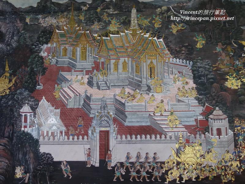 拉瑪堅神話壁畫2