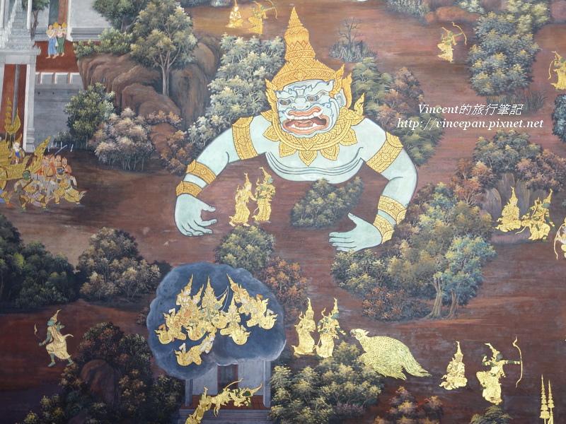 拉瑪堅神話壁畫3