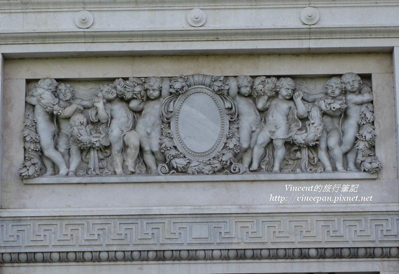 舊國會大廈 雕像裝飾