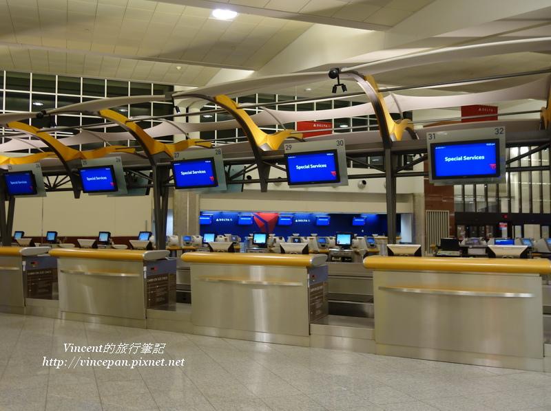 亞特蘭大機場櫃臺