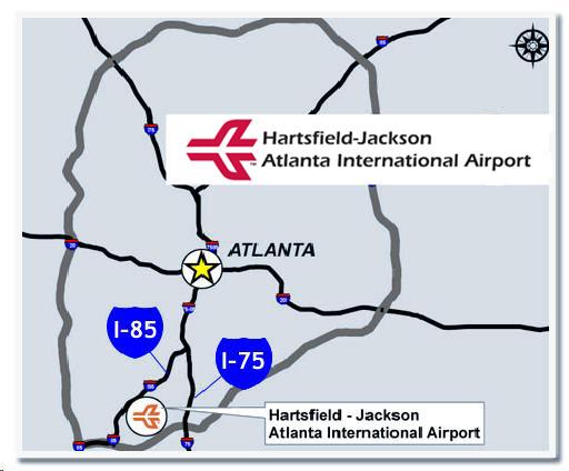 亞特蘭大機場map