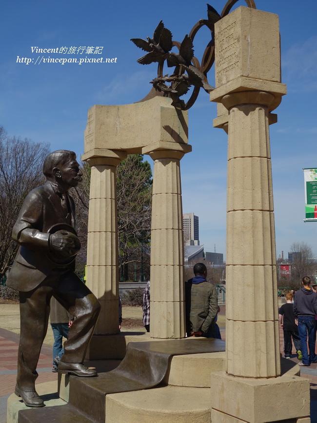 Pierre de Coubertin statue