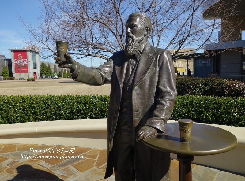 John S. Pemberton雕像