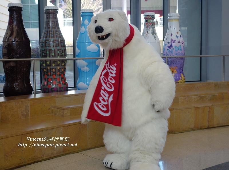 可樂北極熊