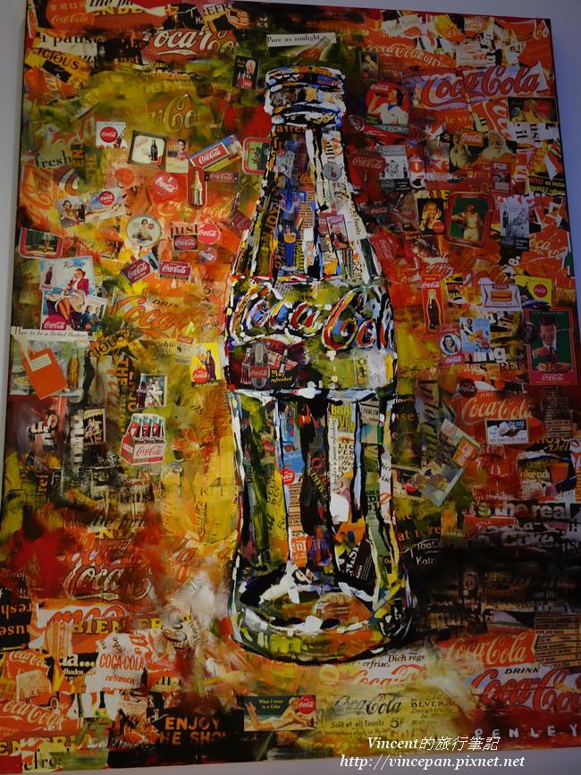 可樂藝術畫